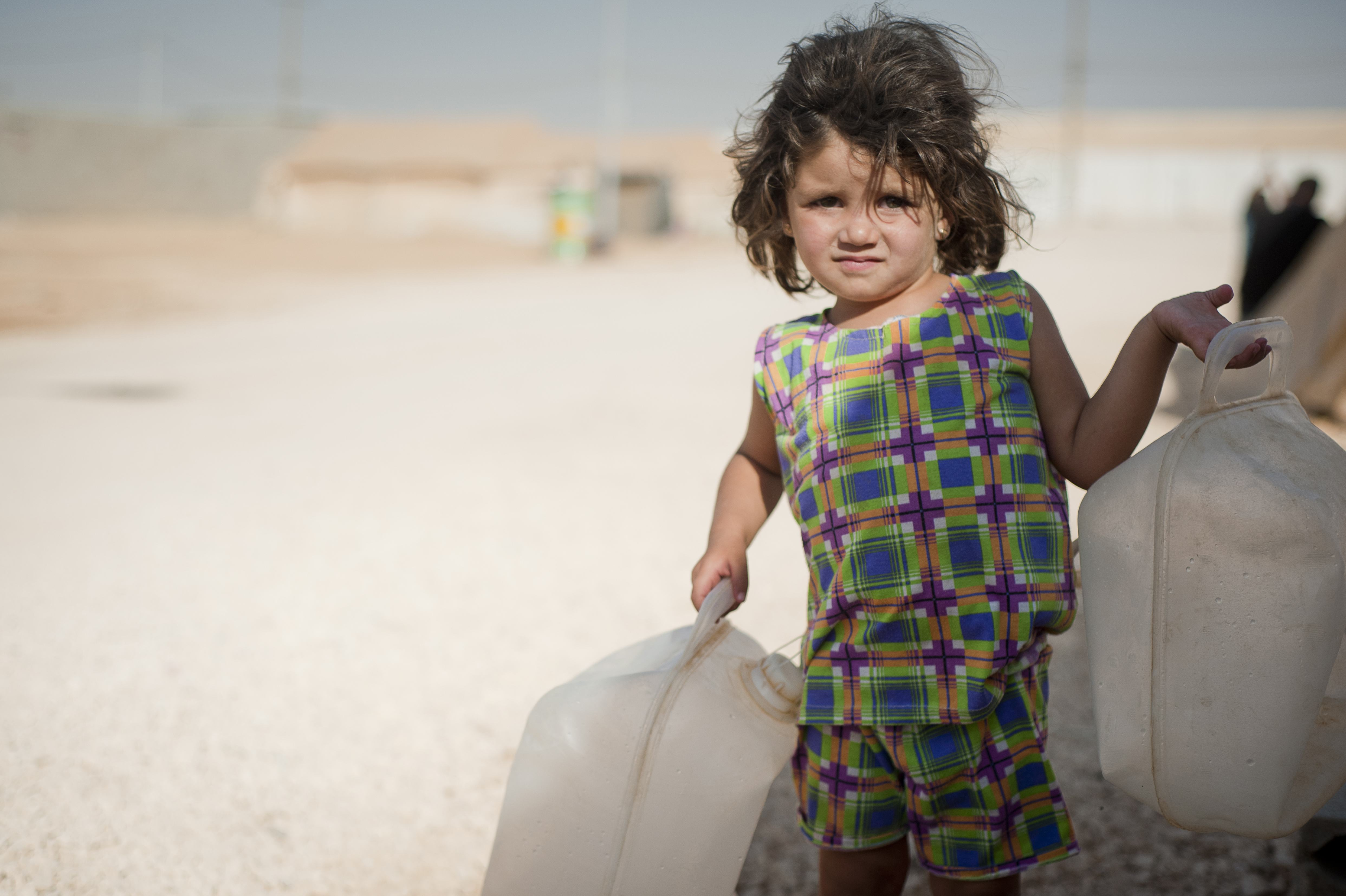 Camp de Zaatari.